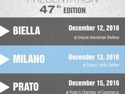 The 47th Filo Edition Will Be Presented In Biella, Milan And Prato