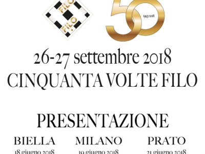 Filo No. 50 Will Be Launched In Biella, Milan And Prato