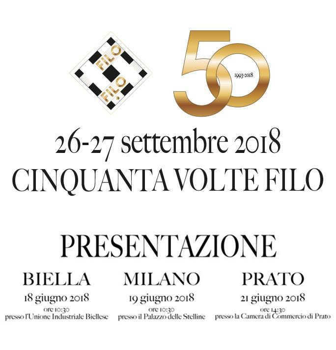 Filo N. 50 Si Presenta A Biella, Milano E Prato