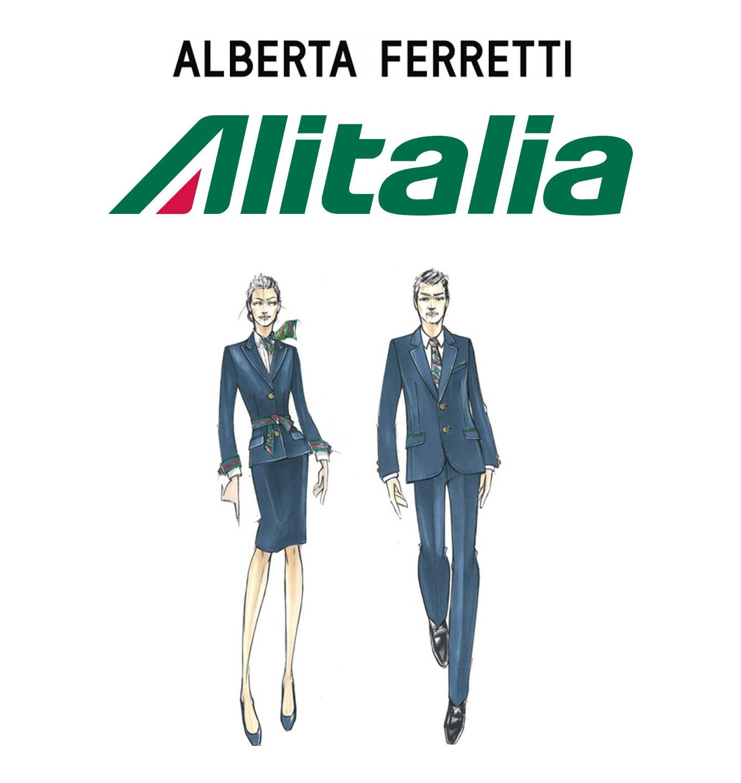 Alitalia Veste Alberta Ferretti