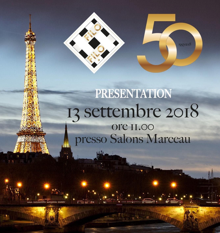 Palcoscenico Parigino Per La 50a Edizione Di Filo