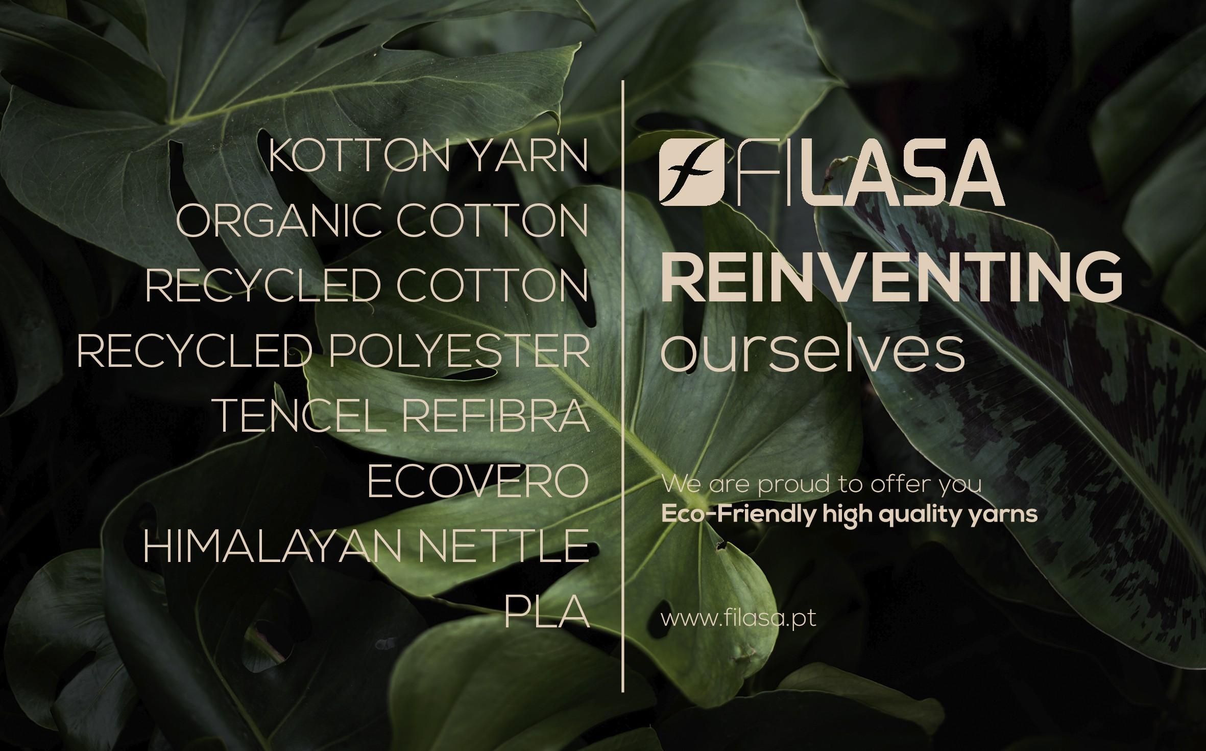 Filasa Experience For Environmentally Friendly Yarns